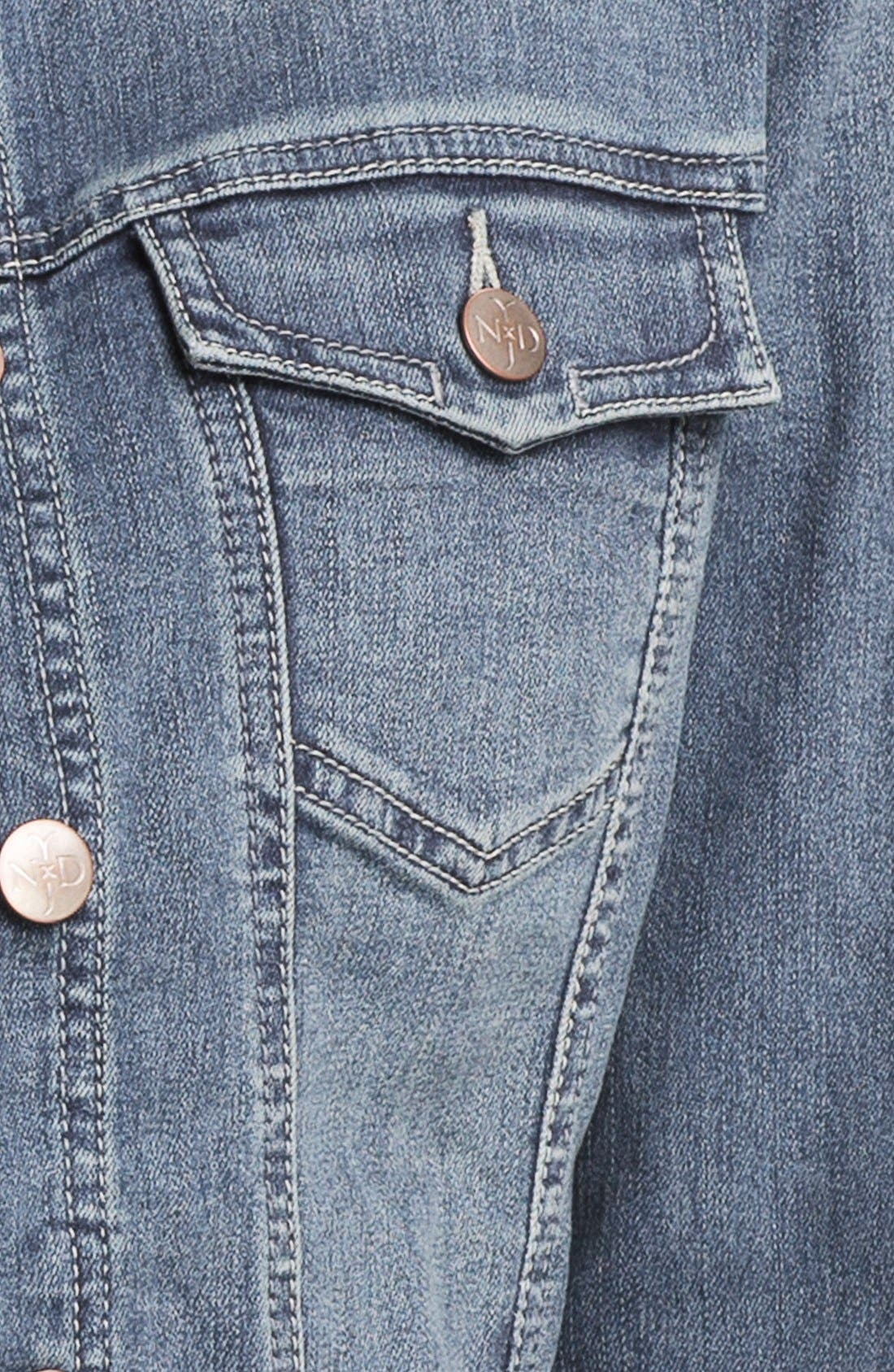 Alternate Image 3  - NYDJ 'Penny' Denim Jacket