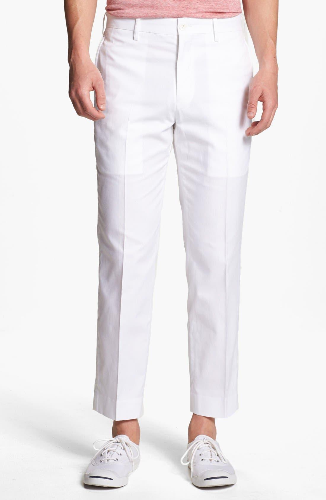 Alternate Image 1 Selected - Junya Watanabe Crop Oxford Pants