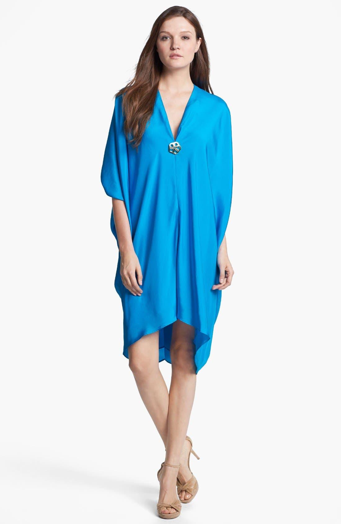 Main Image - Trina Turk 'Getaway' Silk Caftan Dress