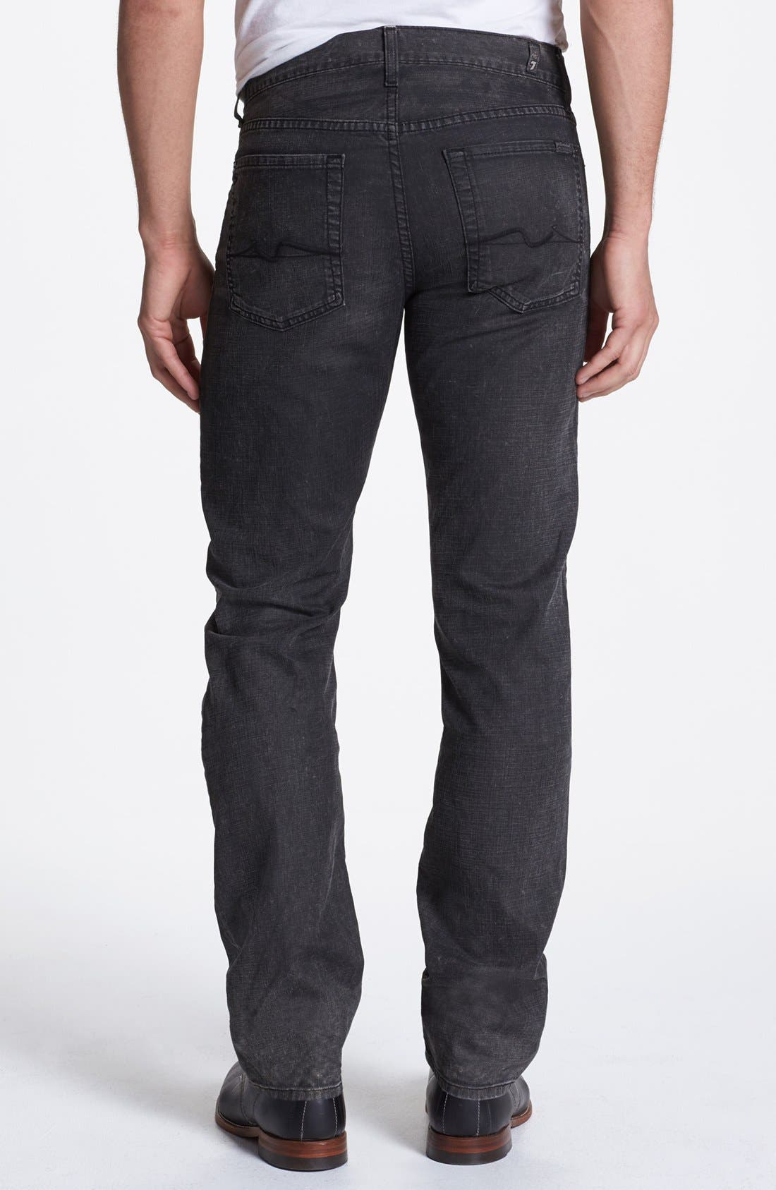 Alternate Image 1 Selected - 7 For All Mankind® 'Slimmy' Slim Fit Jeans (Seven Mile Lane)