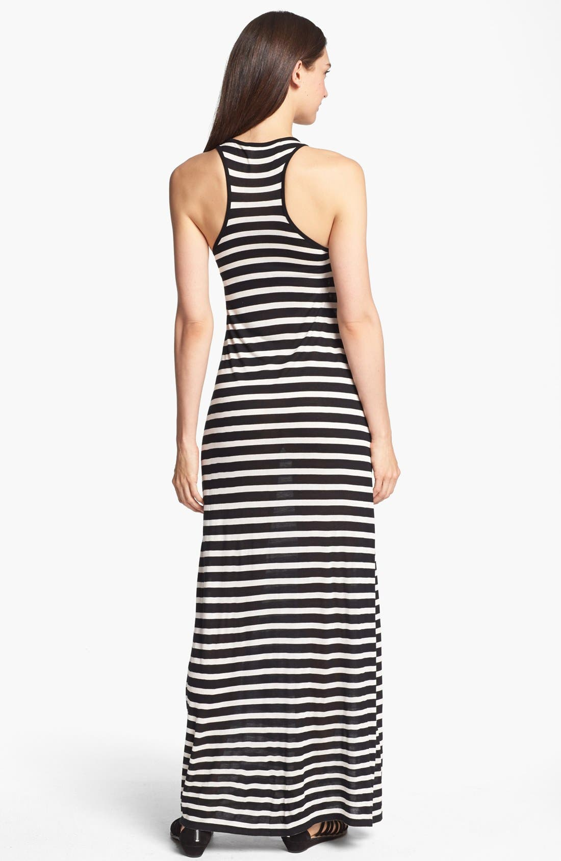 Alternate Image 2  - Two by Vince Camuto Stripe Racerback Maxi Dress