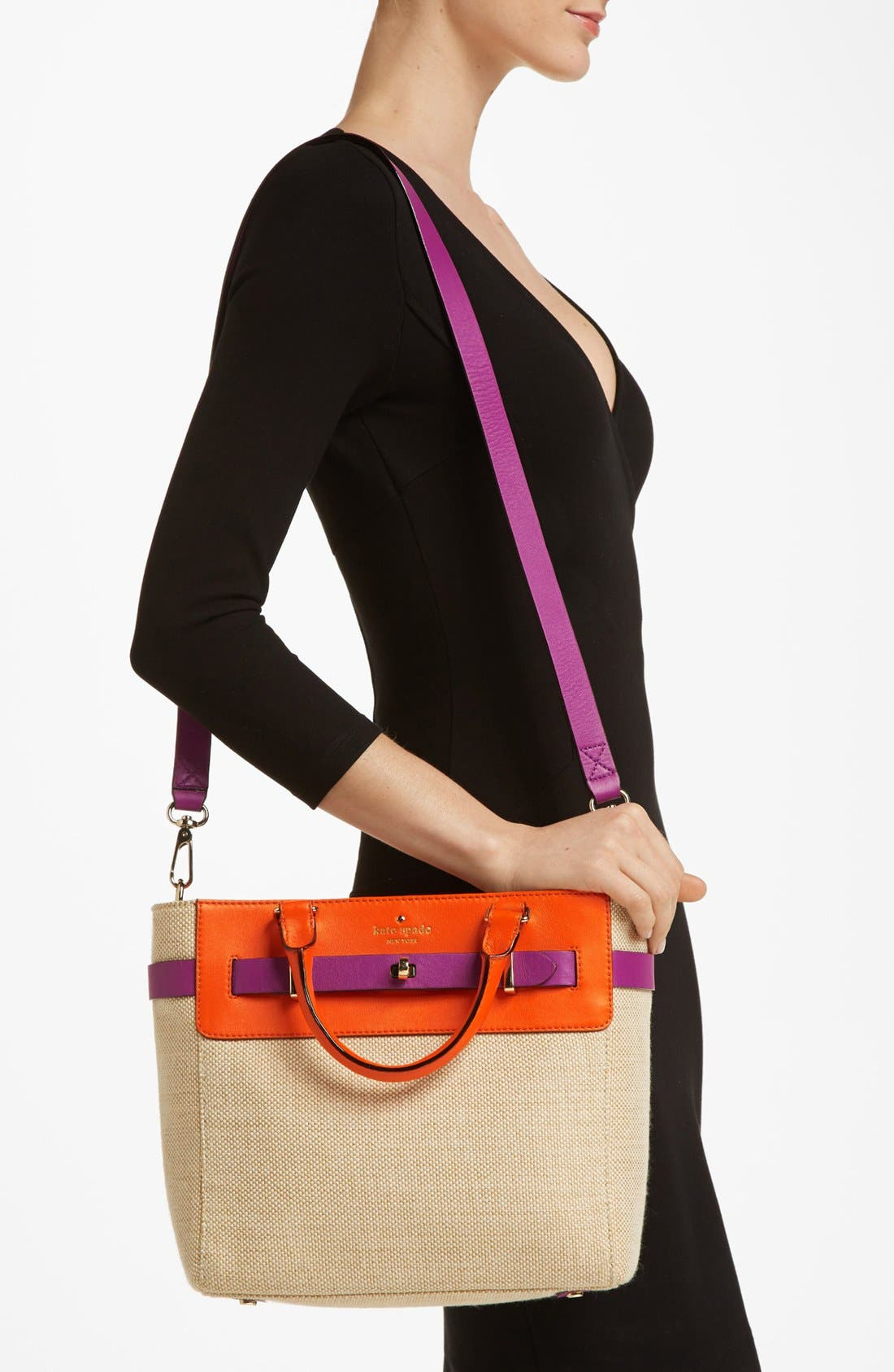 Alternate Image 2  - kate spade new york 'bourbon street - fabric skyler' tote