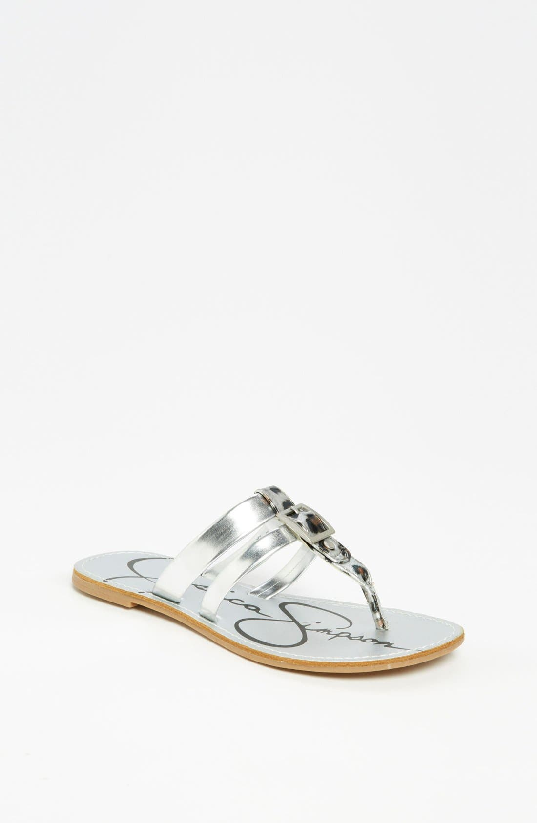 Alternate Image 1 Selected - Jessica Simpson 'Nev' Sandal (Toddler, Little Kid & Big Kid)