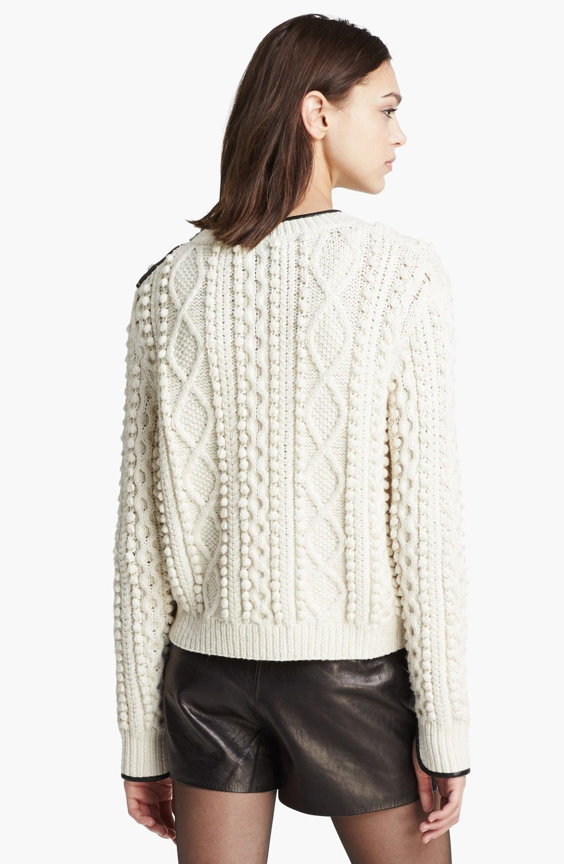 Alternate Image 3  - 3.1 Phillip Lim Cable Knit Sweater