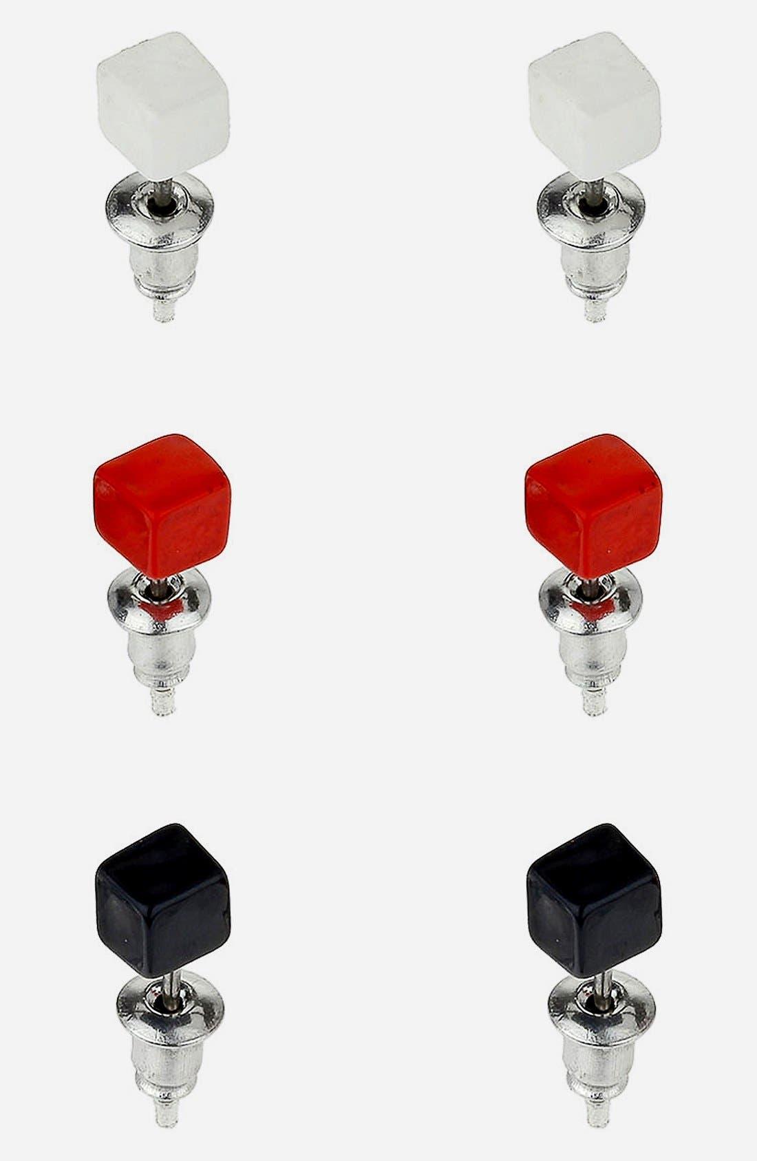 Alternate Image 1 Selected - Topman Multi Square Studs