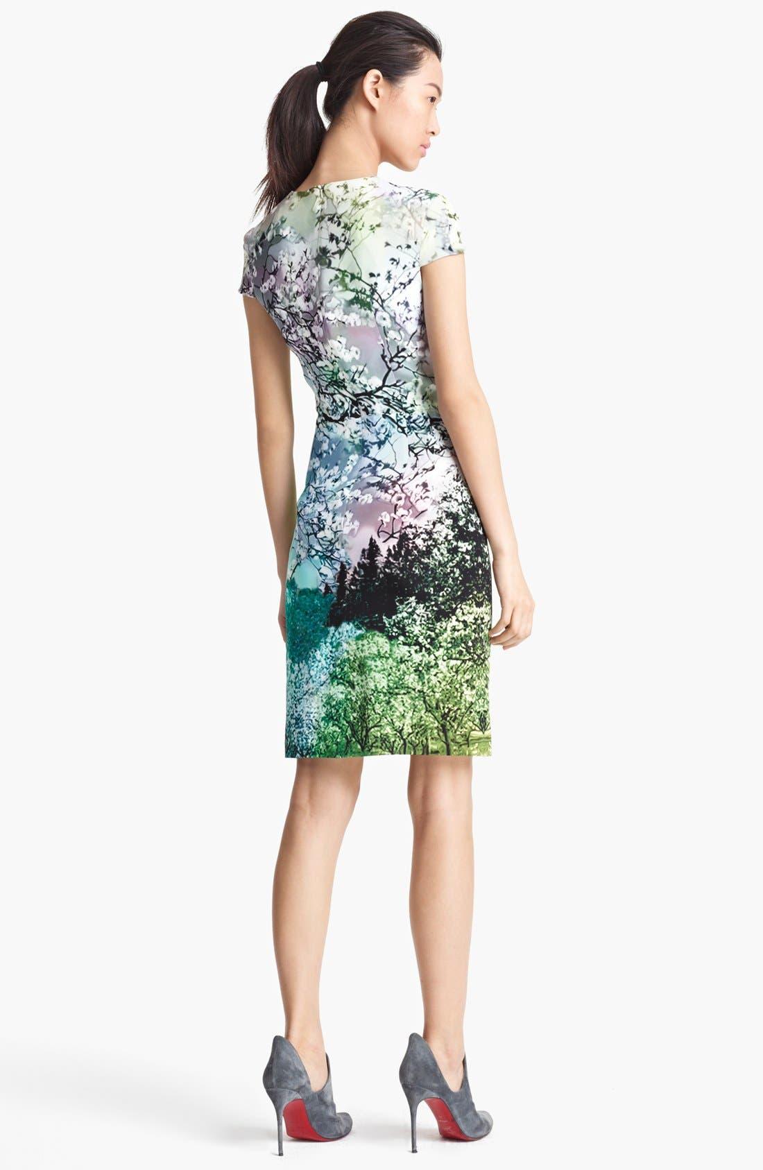 Alternate Image 2  - Mary Katrantzou Print Silk Dress