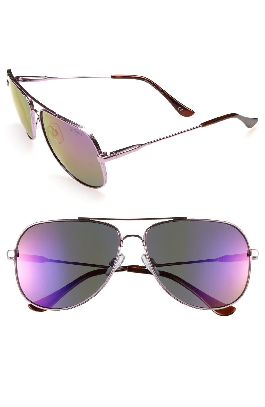 Main Image - Le Specs 'Galactica' Aviator Sunglasses