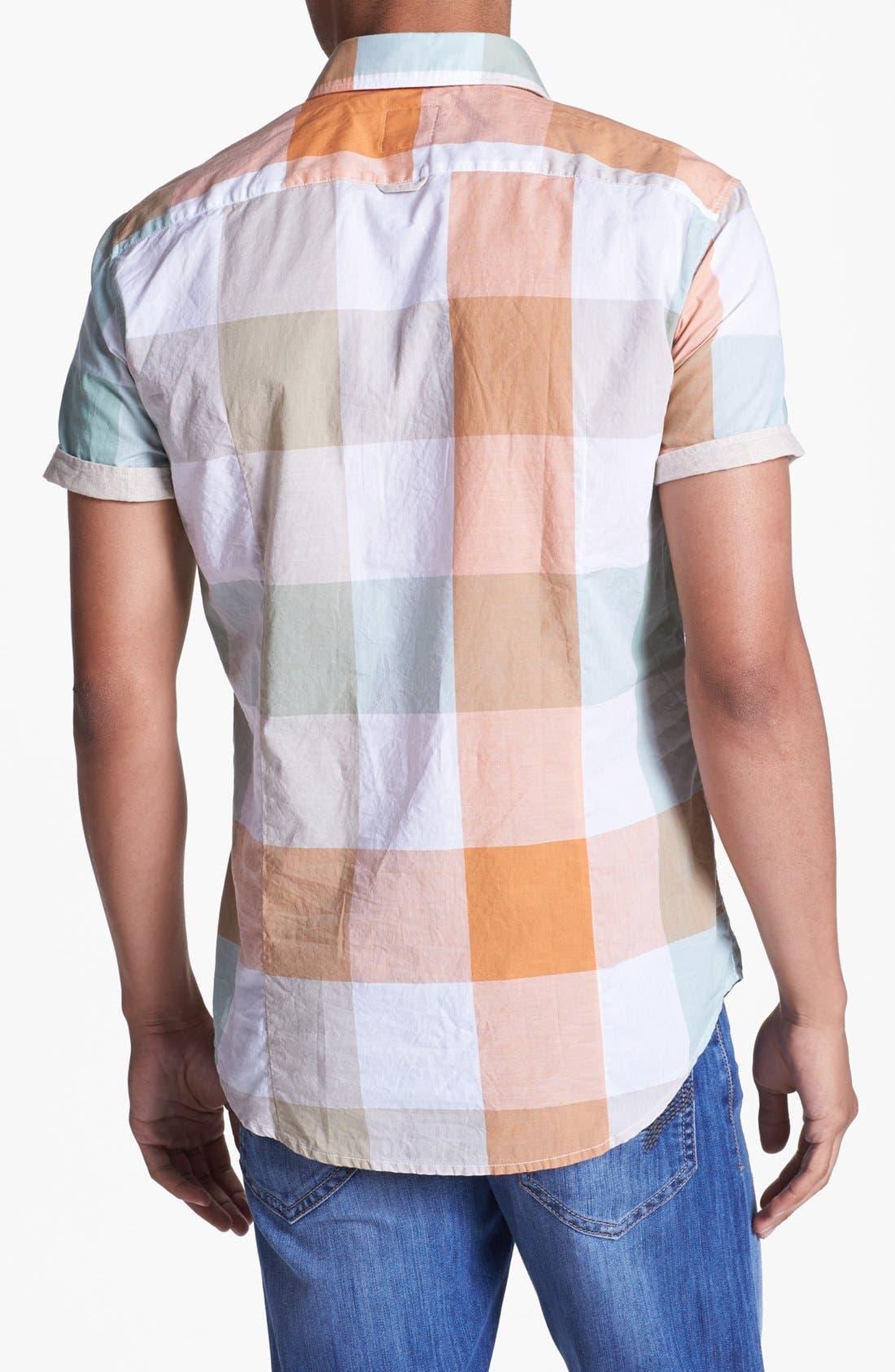Alternate Image 3  - BOSS Orange 'Cliffi' Short Sleeve Check Shirt