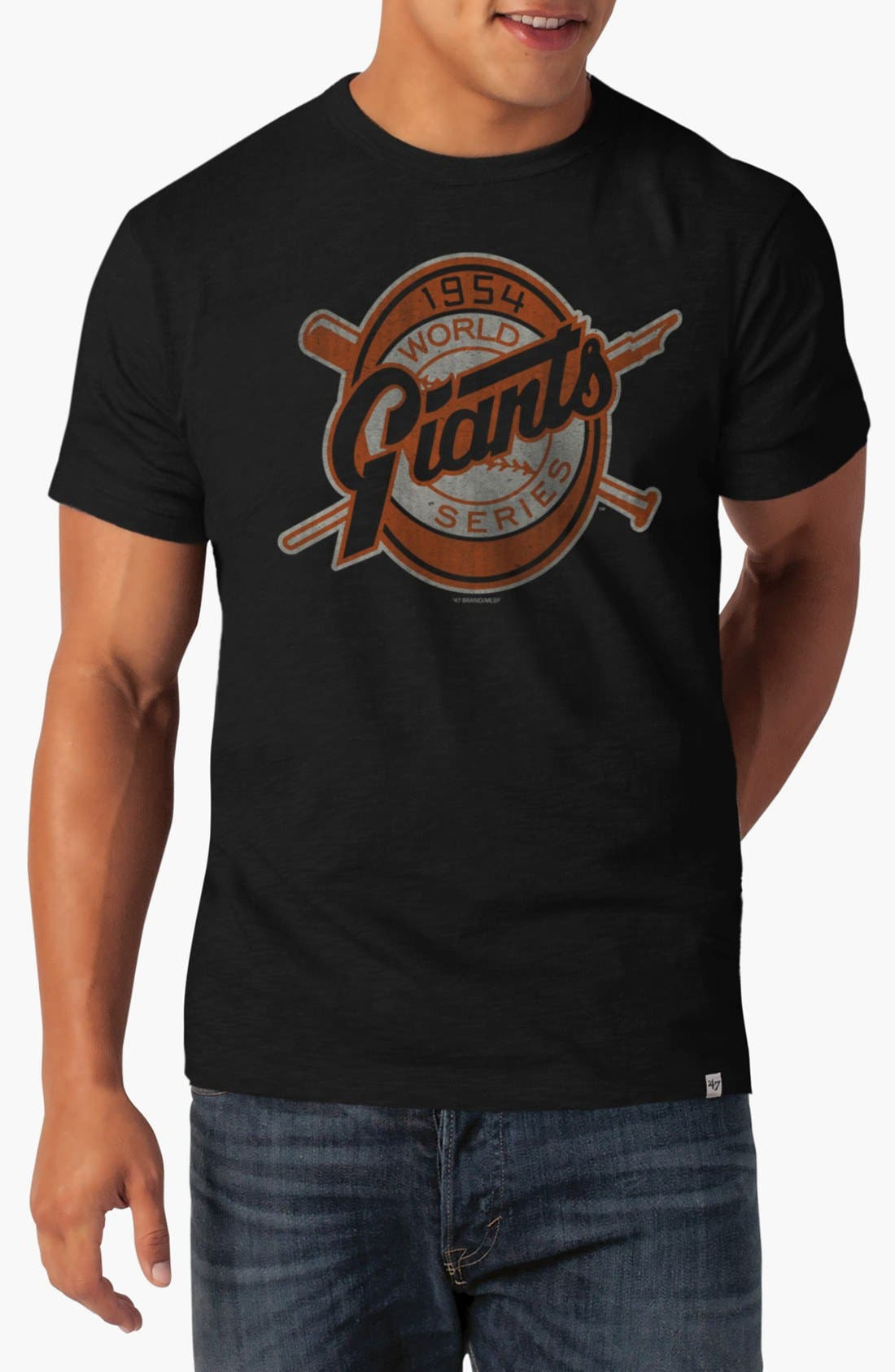 Alternate Image 1 Selected - Banner 47 'New York Giants World Series' Graphic T-Shirt
