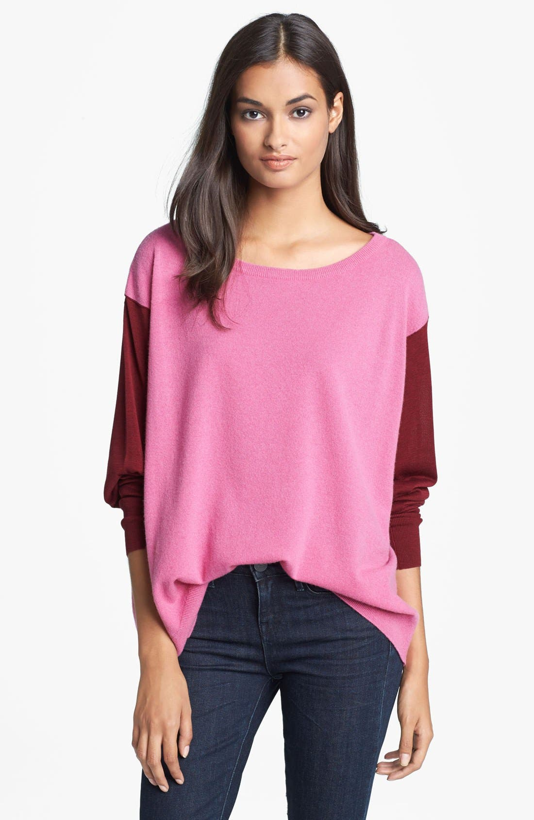 Alternate Image 1 Selected - Diane von Furstenberg 'Dana' Wool Blend Sweater