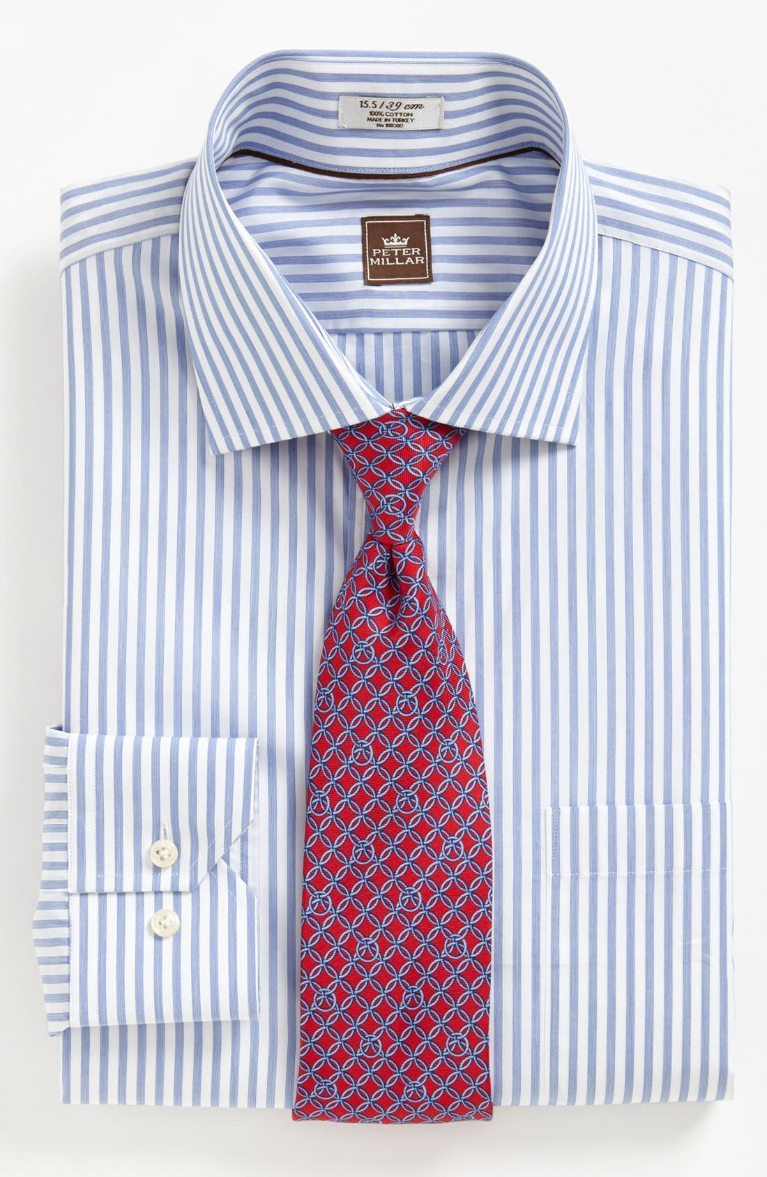 Alternate Image 3  - Peter Millar Regular Fit Dress Shirt