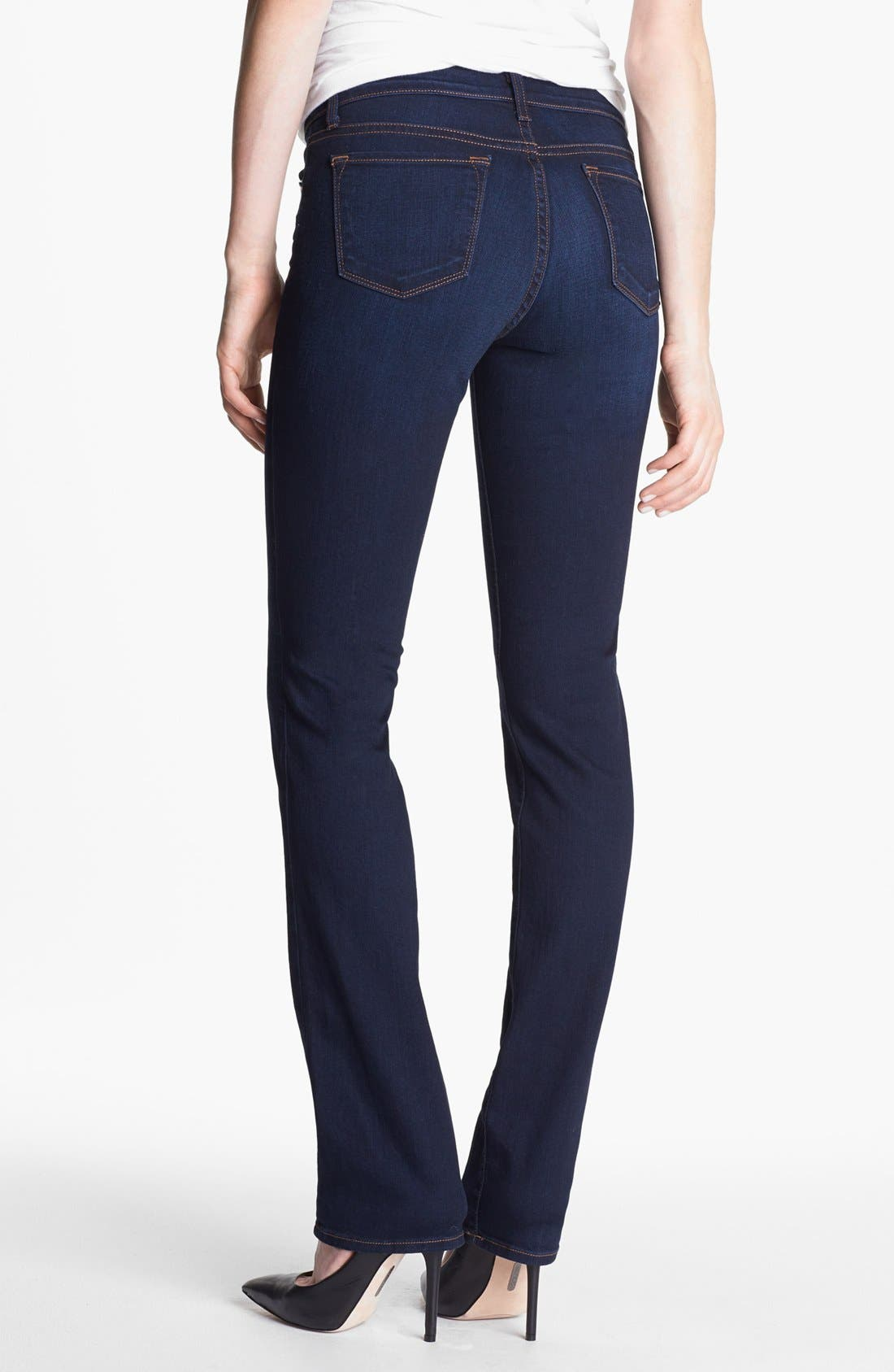 Alternate Image 2  - J Brand '814' Mid-Rise Cigarette Leg Jeans (Ignite)