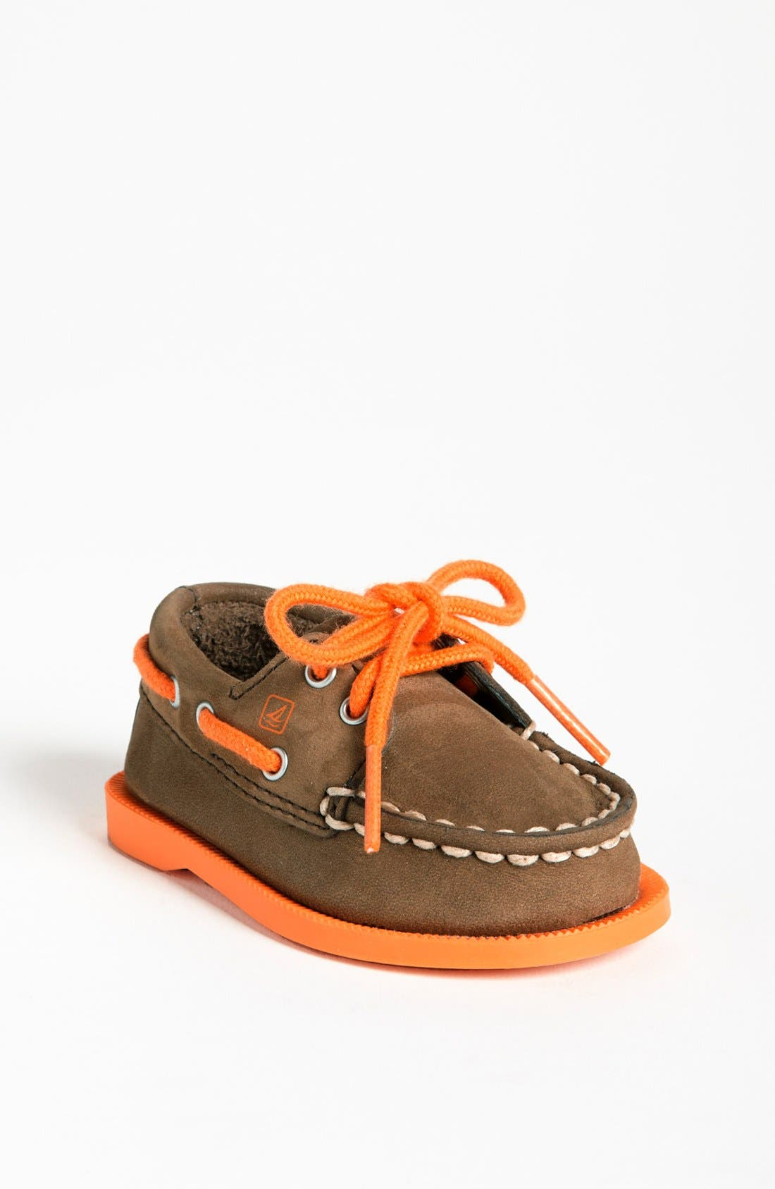 Alternate Image 1 Selected - Sperry Top-Sider® Kids 'Authentic Original' Crib Shoe (Baby) (Online Only)