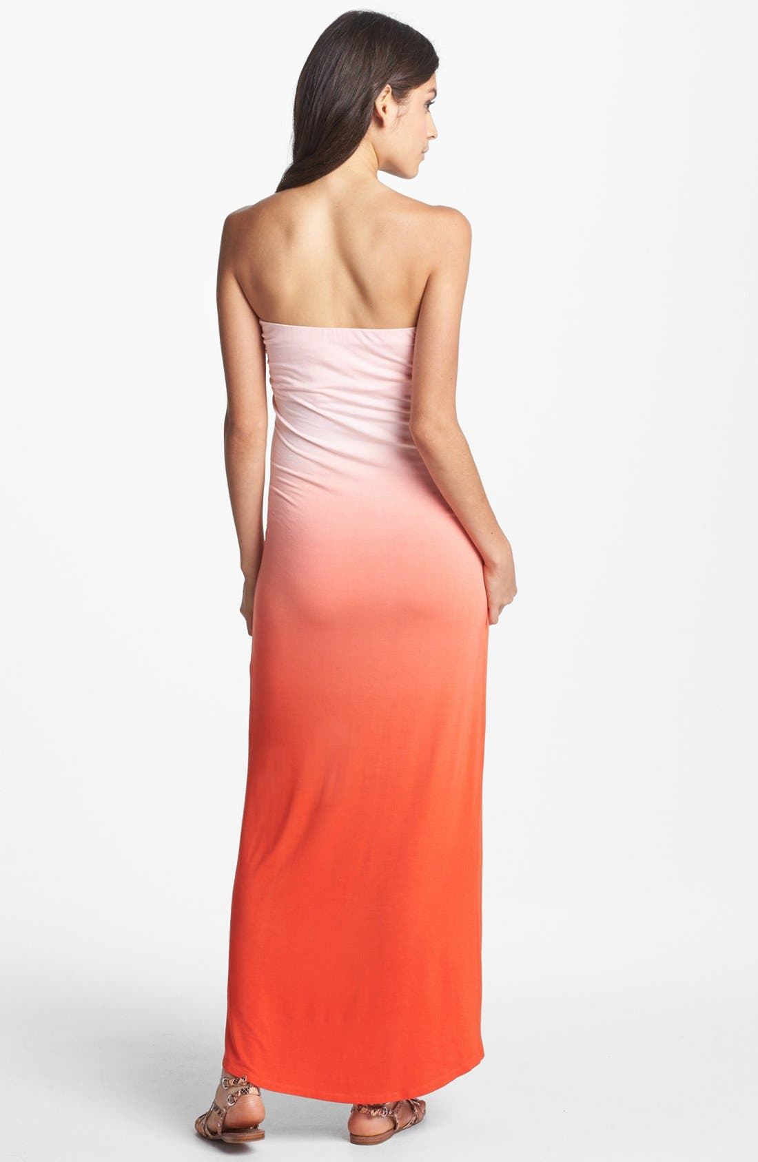 Alternate Image 2  - Young, Fabulous & Broke 'Brooklyn' Ombré Maxi Dress