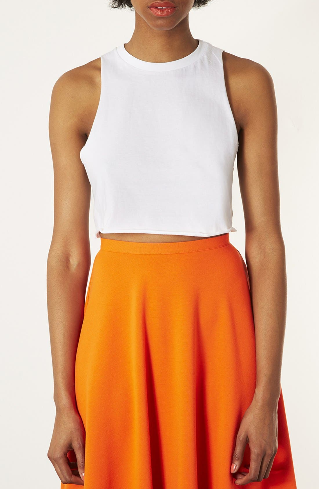 Alternate Image 1 Selected - Topshop Crop Tank