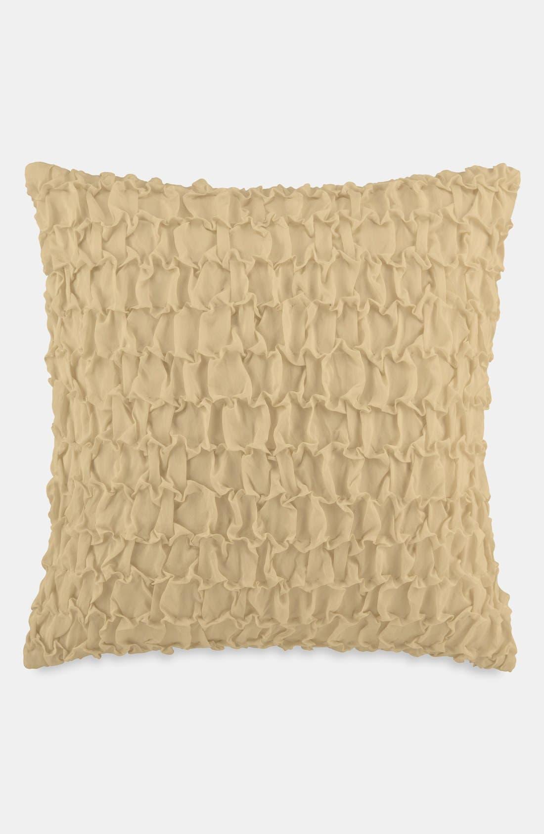 Alternate Image 1 Selected - Donna Karan 'Essentials - Textured' Silk Face Pillow (Online Only)