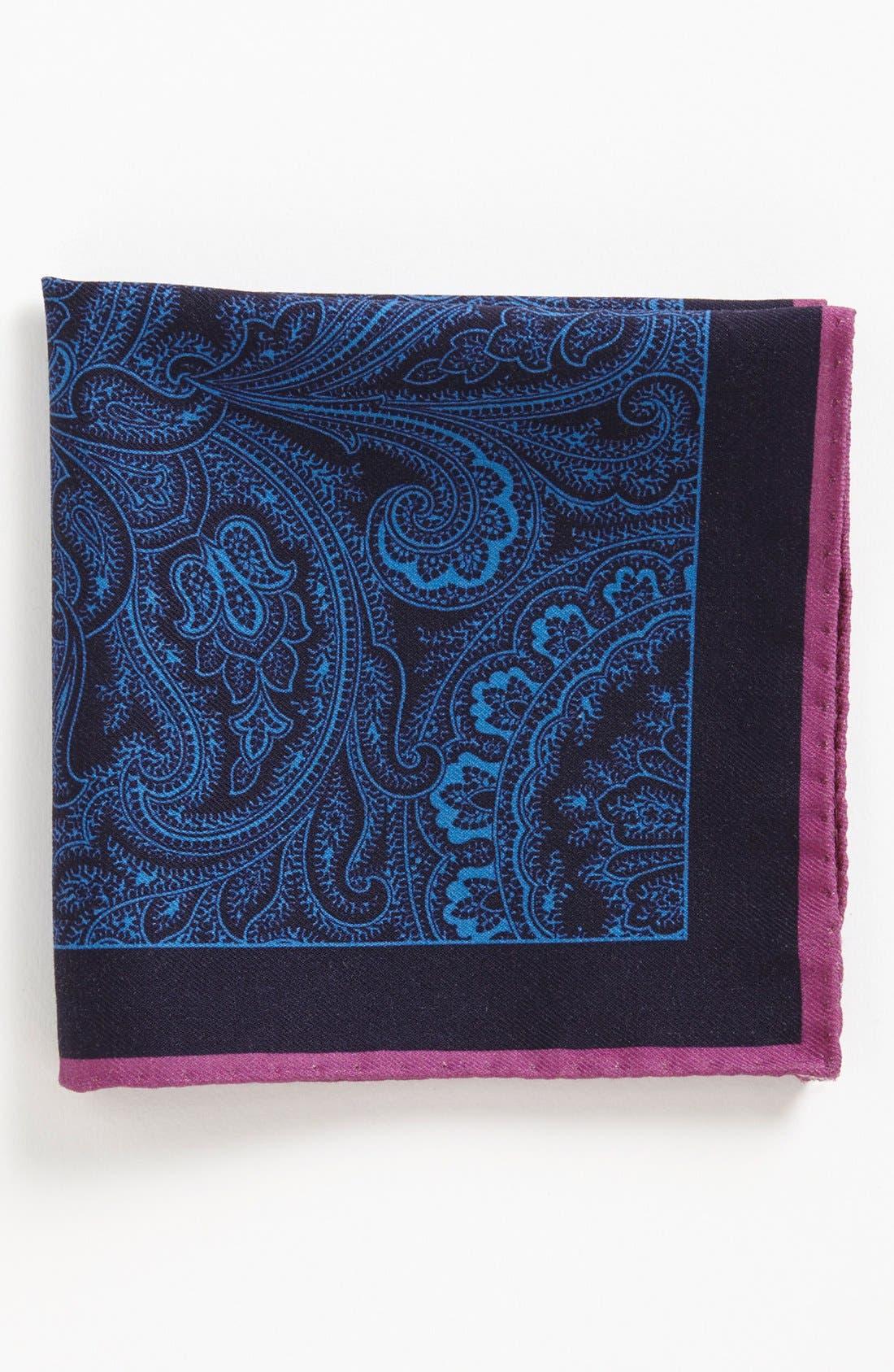 Alternate Image 1 Selected - Ted Baker London Wool Blend Pocket Square
