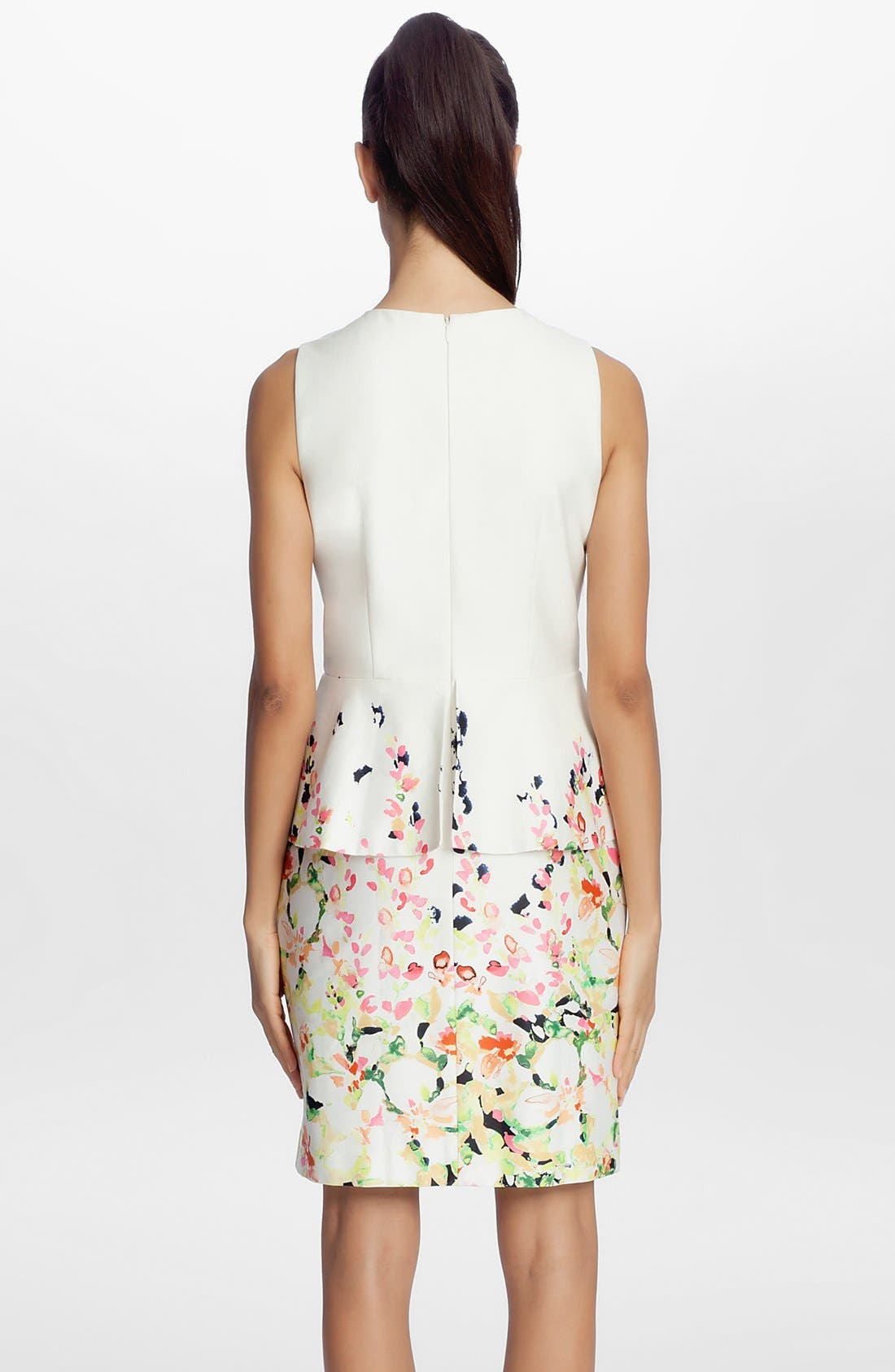 Alternate Image 2  - Cynthia Steffe 'Camille' Peplum Dress