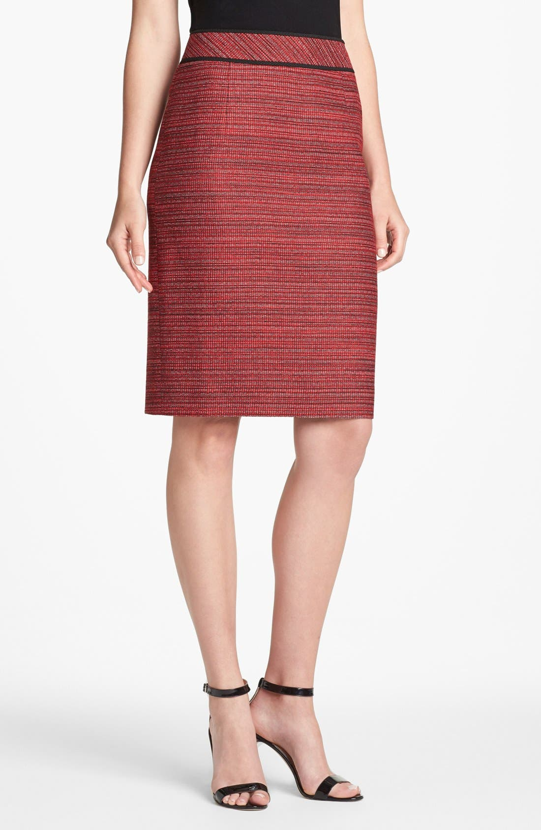 Alternate Image 1 Selected - Classiques Entier® 'Zola' Tweed Skirt