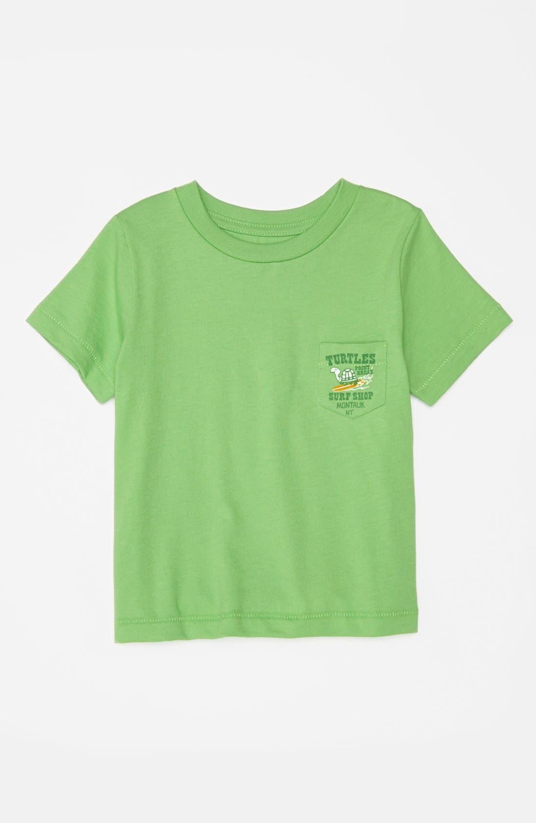 Alternate Image 1 Selected - Peek 'Turtle Point' T-Shirt (Baby Boys)