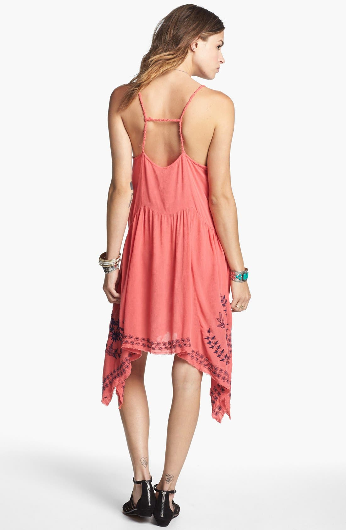 Alternate Image 2  - Free People 'Meadows of Medallion' Slip Dress