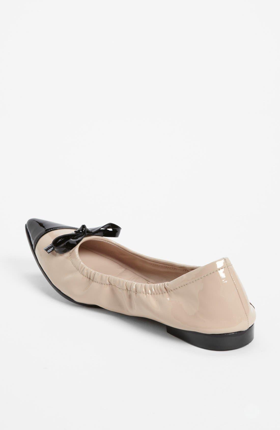 Alternate Image 2  - Miu Miu Point Toe Ballet Flat