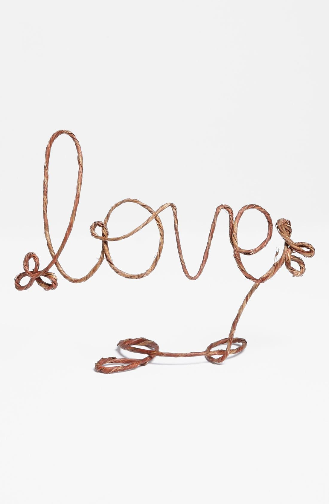 Alternate Image 3  - Anto Arts 'Love' Rustic Cake Topper