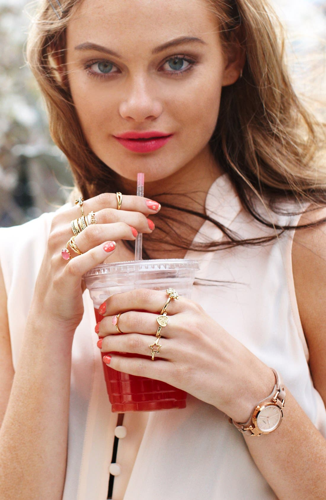 Alternate Image 5  - Ariella Collection Owl Ring (Nordstrom Exclusive)
