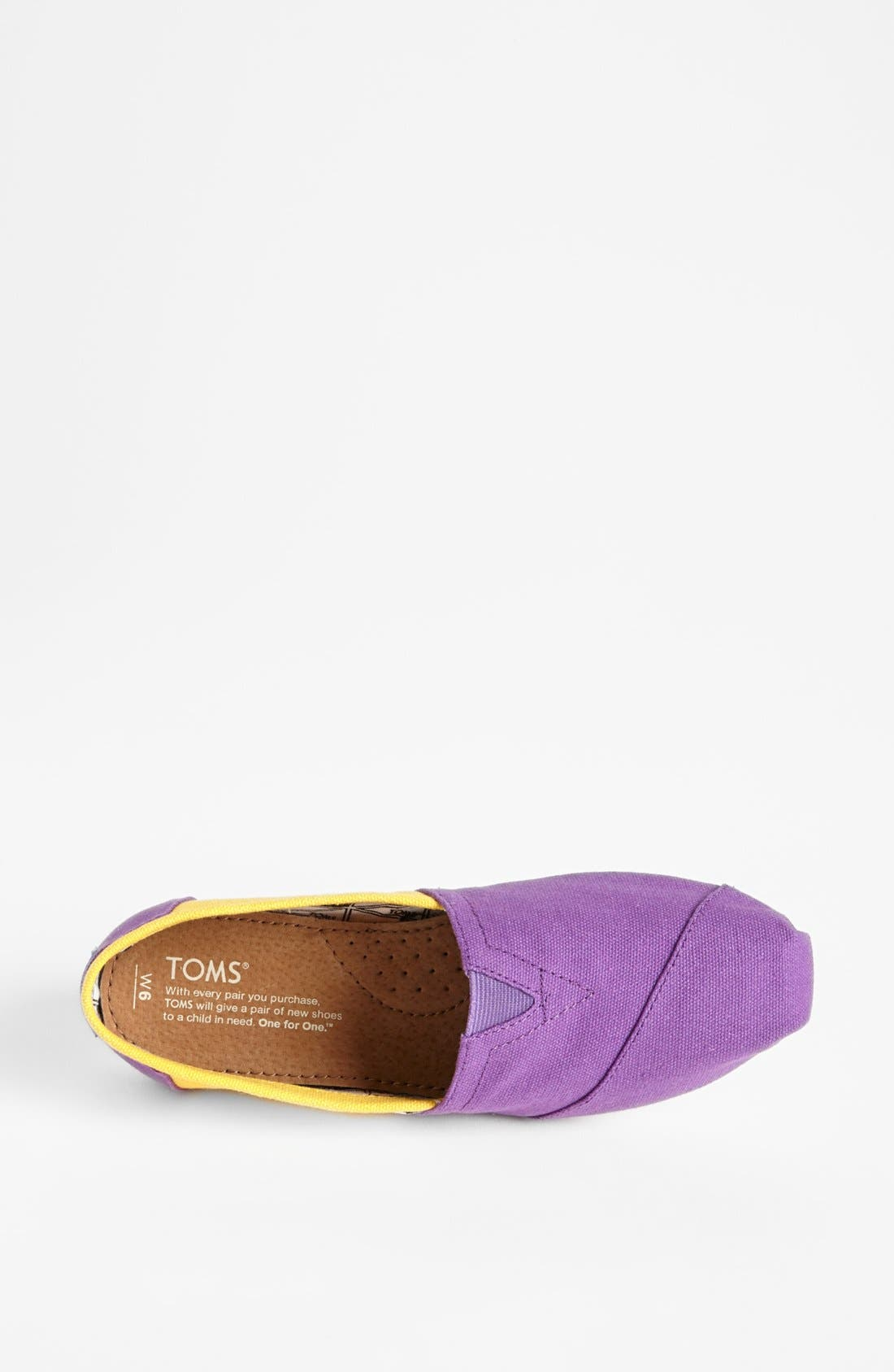 Alternate Image 3  - TOMS 'Campus Classics - Louisiana State' Slip-On (Women)