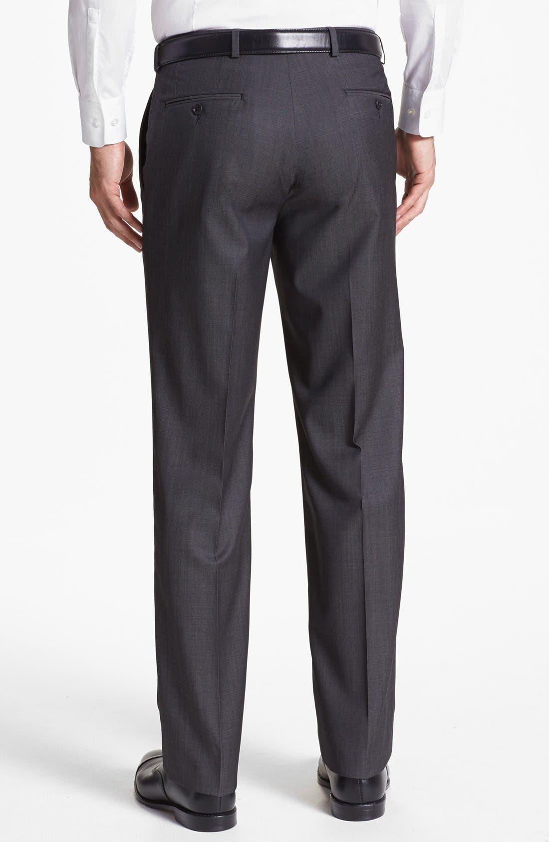 Alternate Image 2  - John Varvatos Star USA  'Thompson' Flat Front Trousers