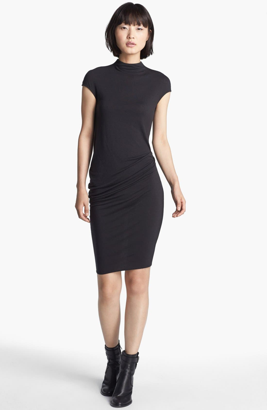 Main Image - HELMUT Helmut Lang 'Nova' Draped Jersey Dress