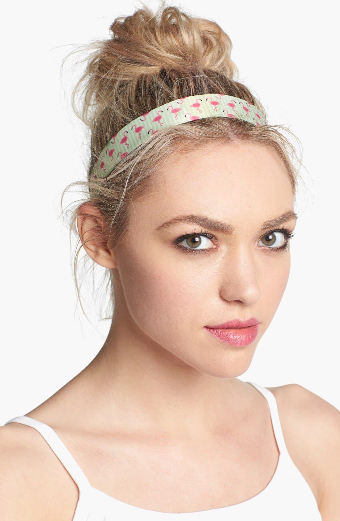 Main Image - Sweaty Bands 'Flamingo Dancer' Head Wrap