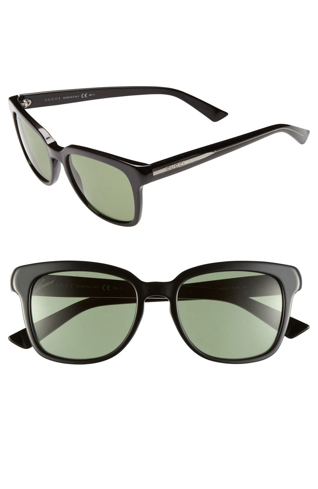 Alternate Image 1 Selected - Gucci 51mm Sunglasses