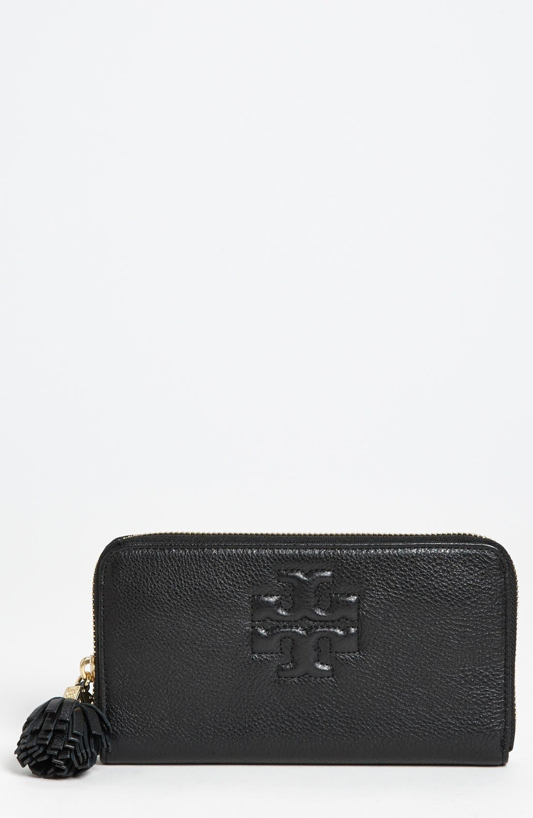 Alternate Image 1 Selected - Tory Burch 'Thea' Continental Wallet