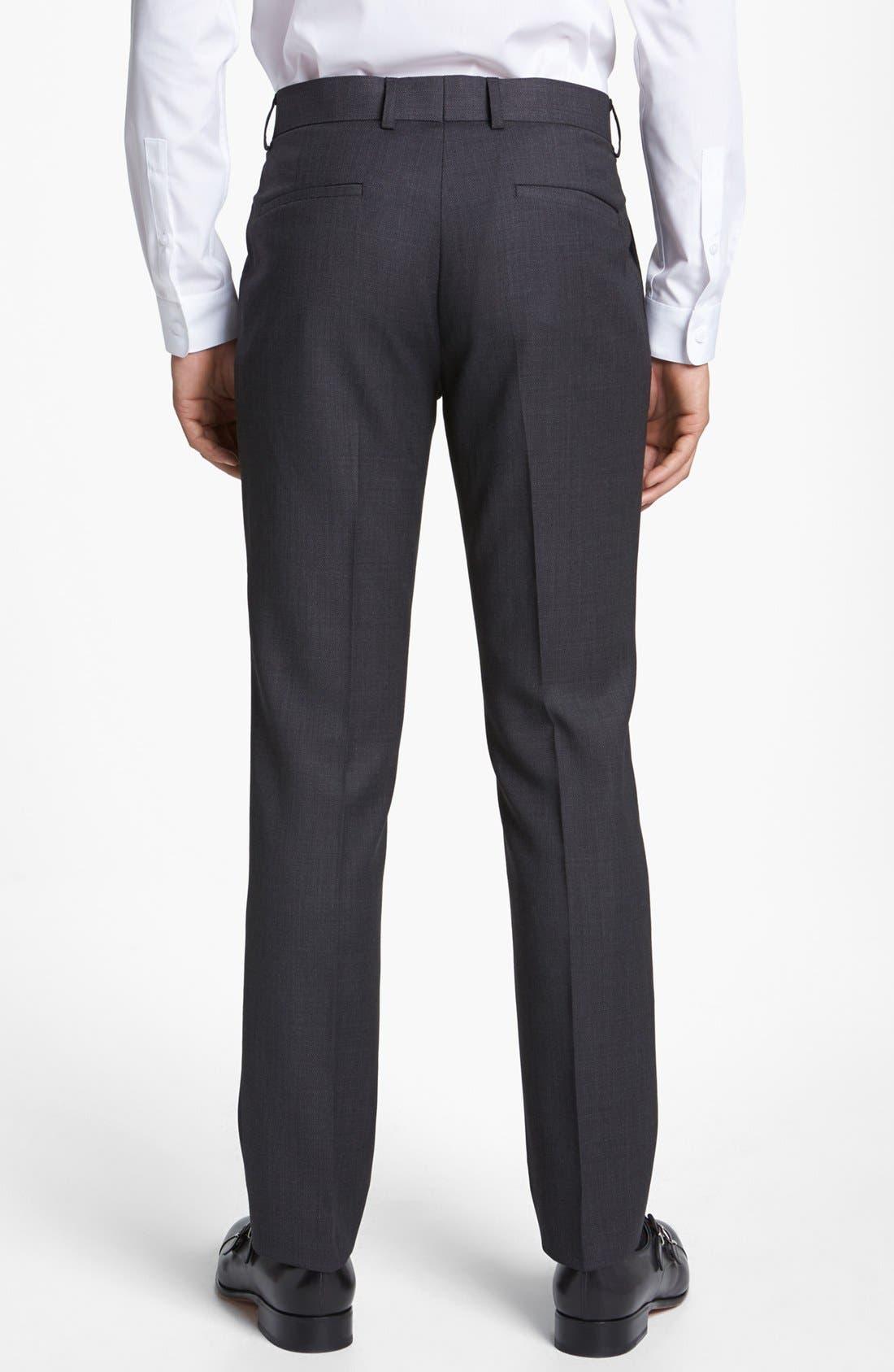 Alternate Image 2  - Topman Slim Fit Trousers