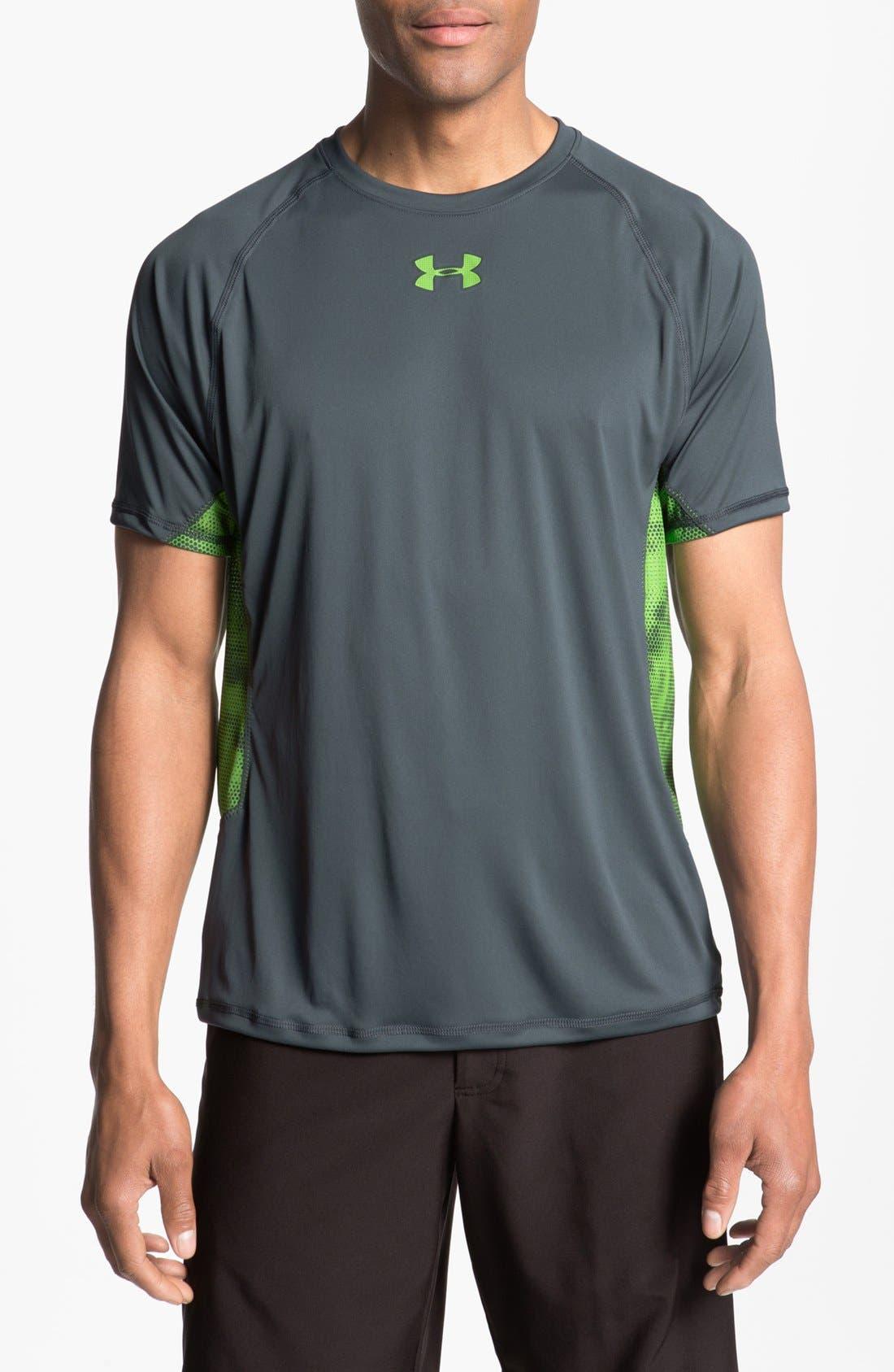 Alternate Image 1 Selected - Under Armour HeatGear® Flyweight T-Shirt
