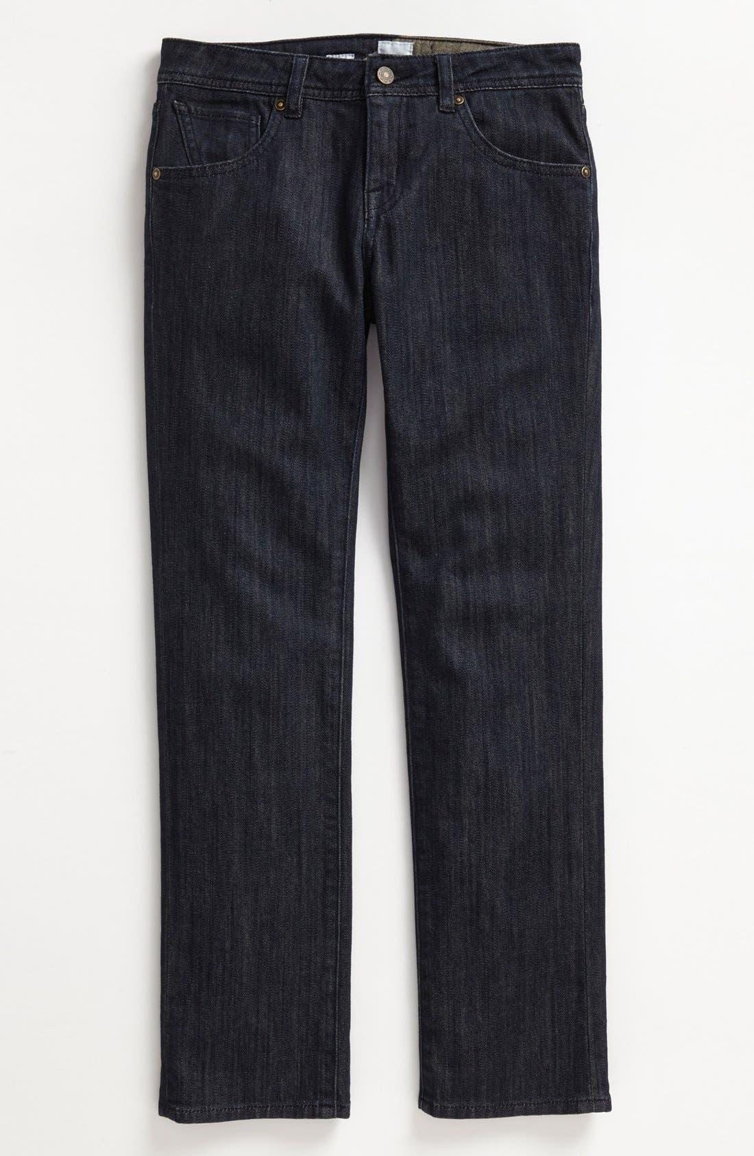 Alternate Image 2  - Volcom 'Nova' Straight Leg Jeans (Big Boys)