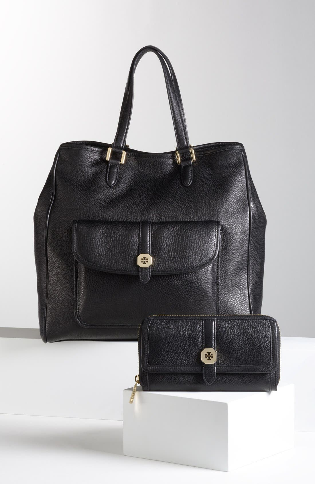 Alternate Image 2  - Tory Burch 'Clay' Leather Tote, Large