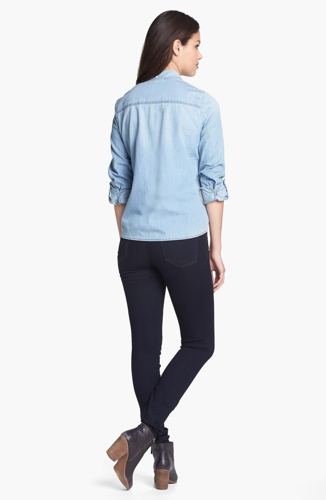Alternate Image 4  - Halogen® Chambray Shirt