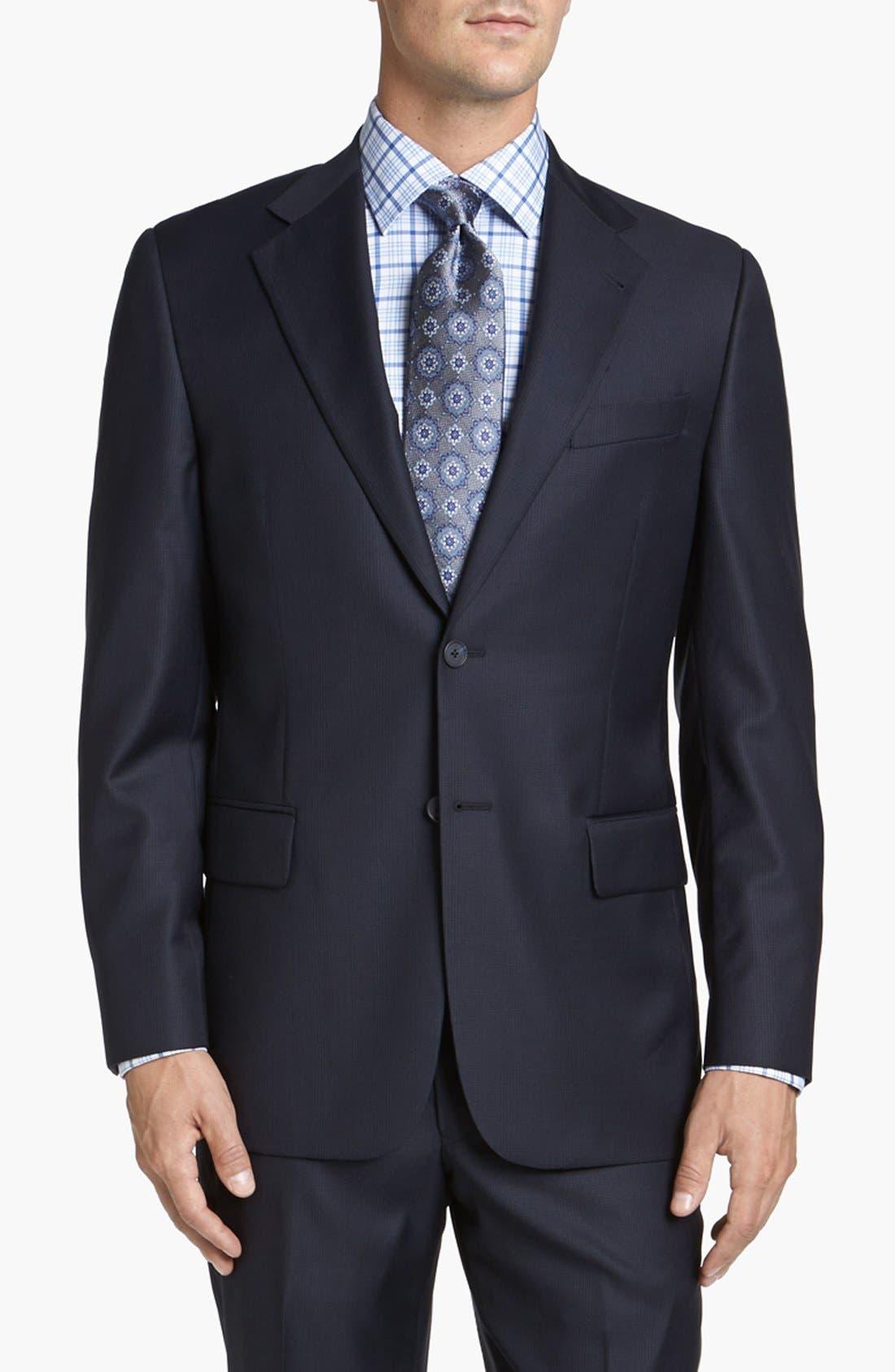 Alternate Image 4  - Joseph Abboud 'Signature Silver' Wool Suit
