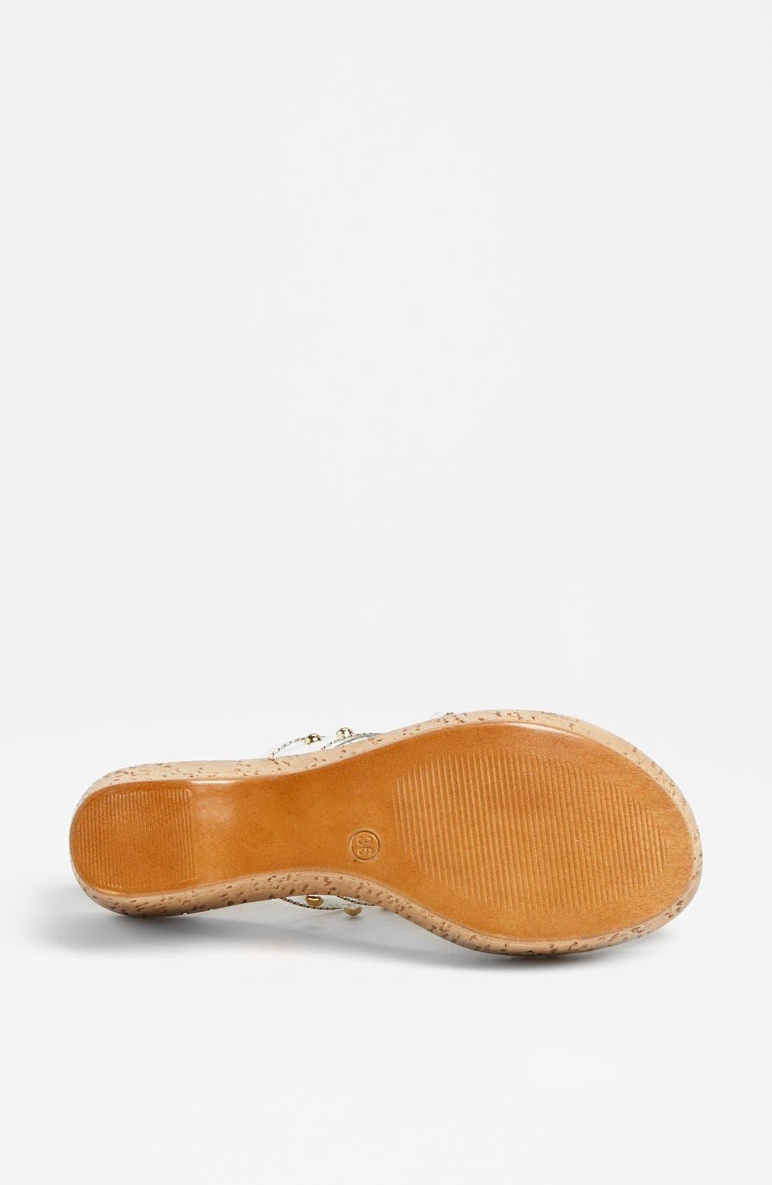 Alternate Image 4  - Dezario 'Passion' Wedge Sandal