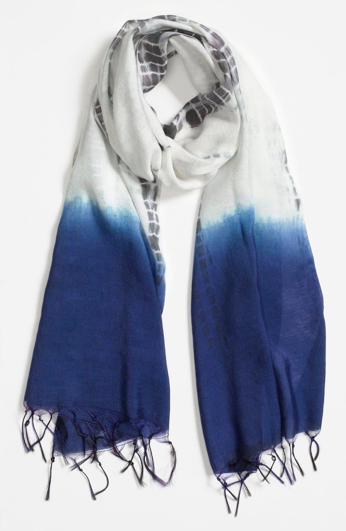 Main Image - Leith Dip Dye Tie Dye Scarf