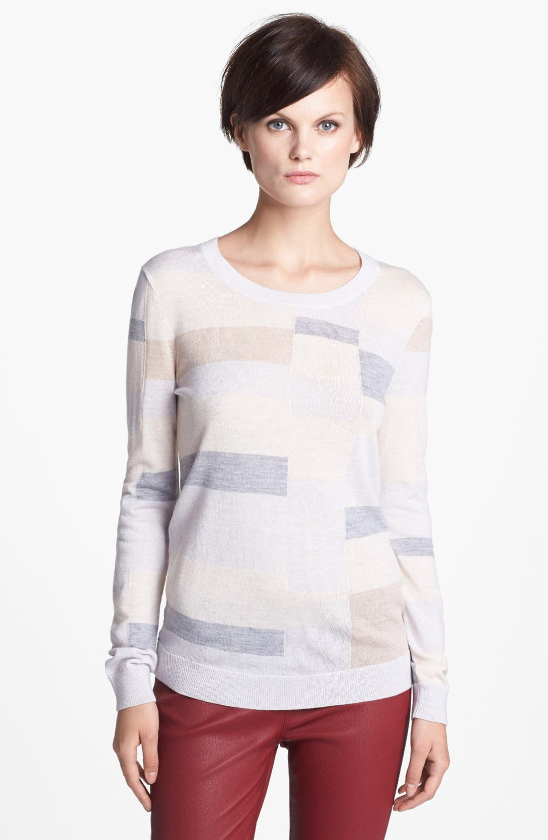 Alternate Image 1 Selected - MARC BY MARC JACOBS 'Poppy' Colorblock Sweater