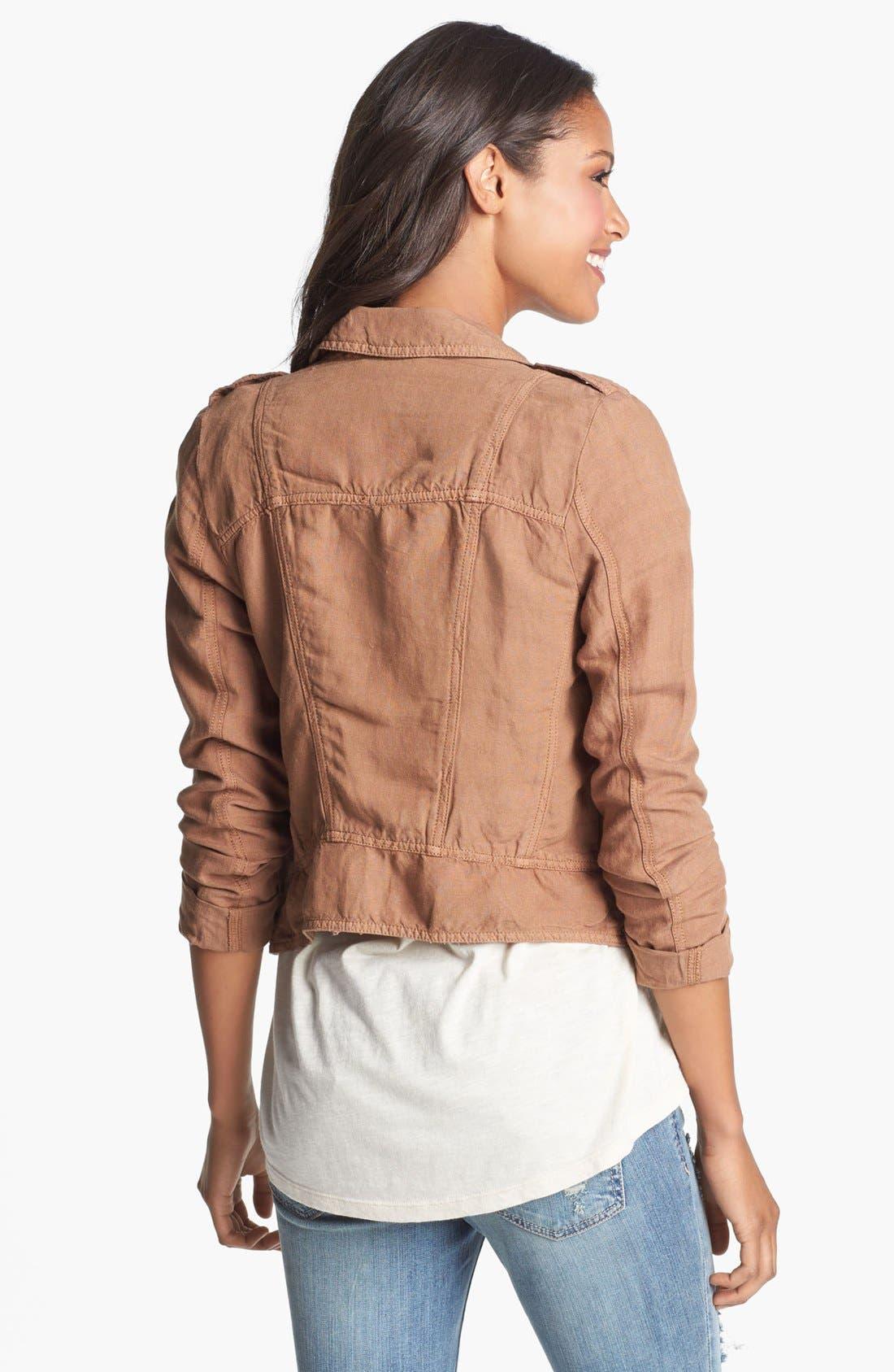 Alternate Image 2  - Lucky Brand 'Addisyn' Moto Jacket