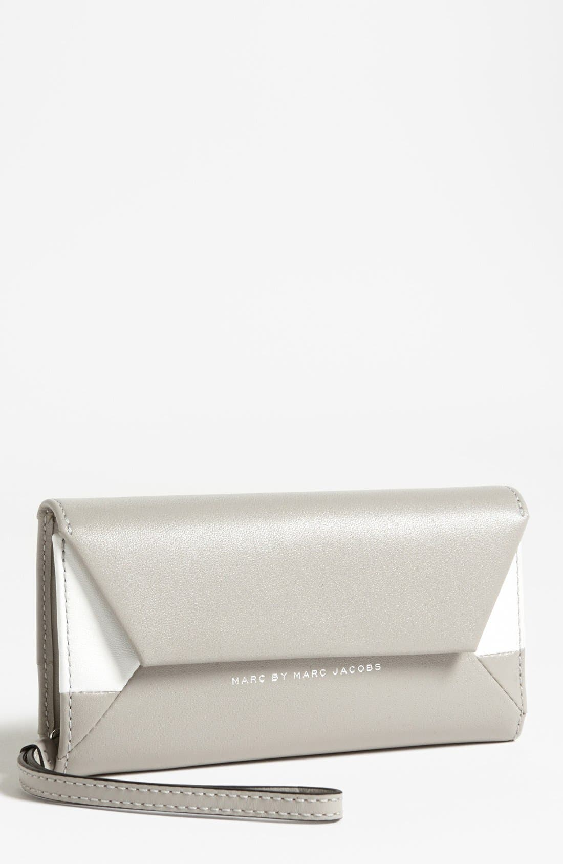 Main Image - MARC BY MARC JACOBS 'Updated Tangram' Smart Phone Wristlet