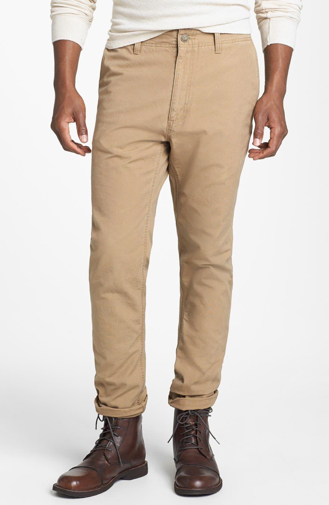 Alternate Image 1 Selected - Vans 'Cali Carpenter' Slim Fit Canvas Pants