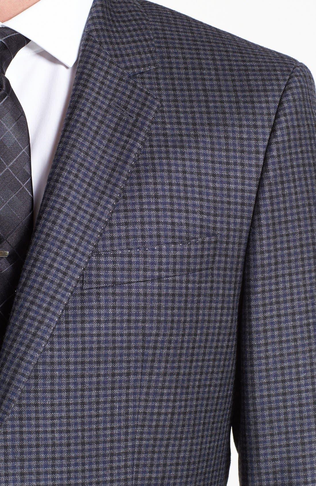 Alternate Image 2  - BOSS HUGO BOSS 'Hutch' Trim Fit Check Sportcoat