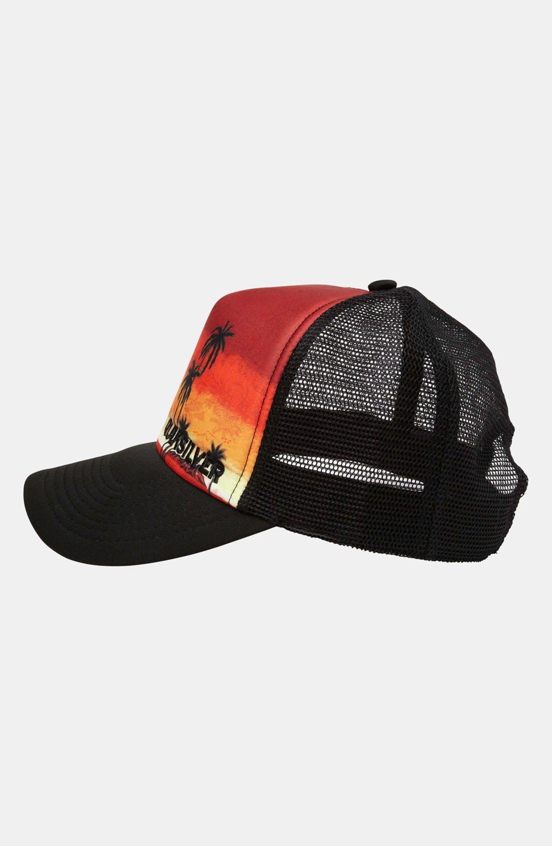 Alternate Image 2  - Quiksilver 'Boards B' Trucker Hat (Boys)