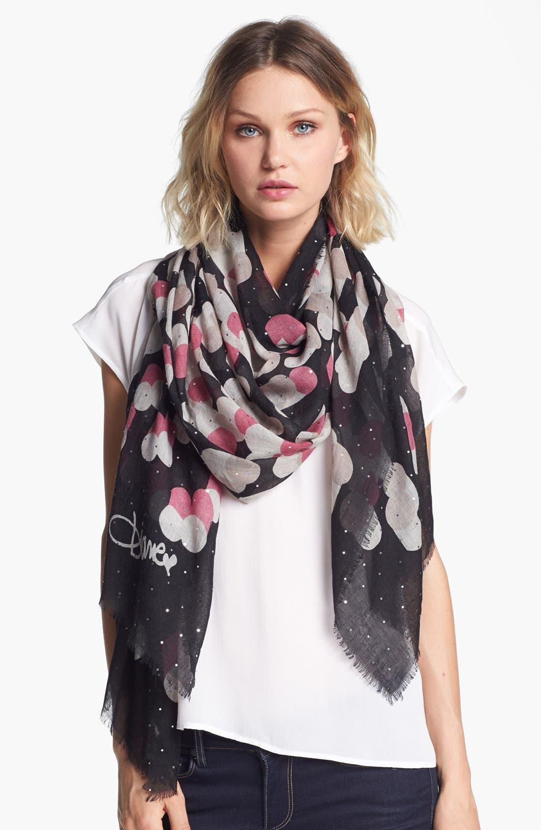 Alternate Image 1 Selected - Diane von Furstenberg 'Hanovar' Wool & Silk Scarf
