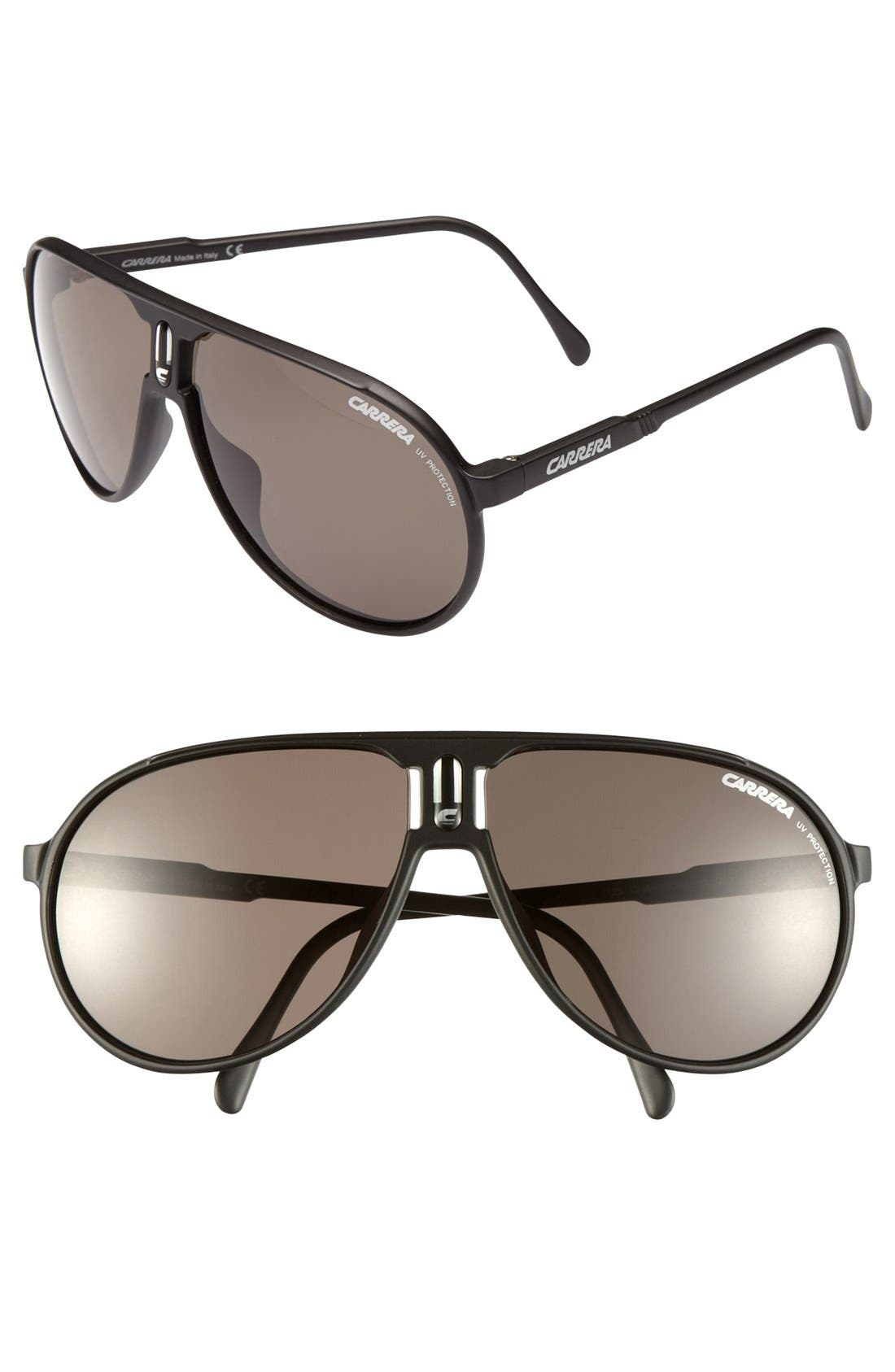 Alternate Image 1 Selected - Carrera Eyewear 62mm Aviator Sunglasses